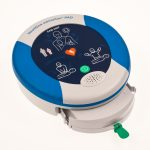 Heartsine 500P AED showing Defib and Padpak