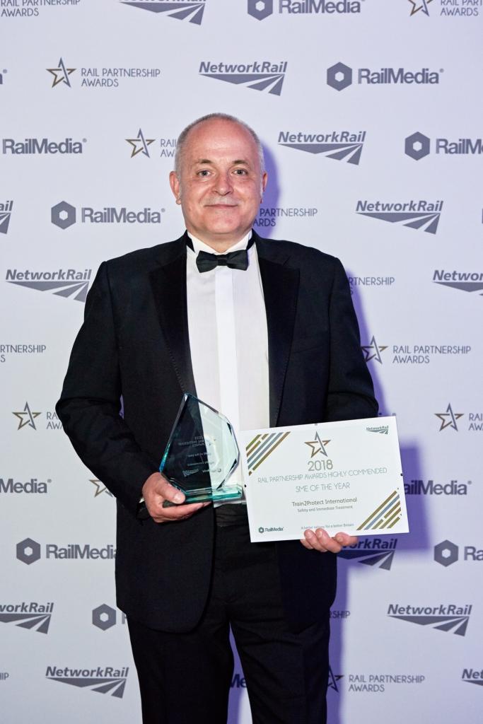 Award Winning Train2Protect collects award