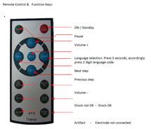 AED trainer remote